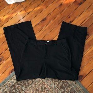 GAP Black Wide-Leg Pants